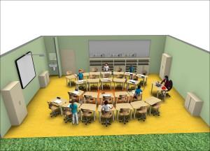 move.upp - flexibler Gruppenraum für die Schule