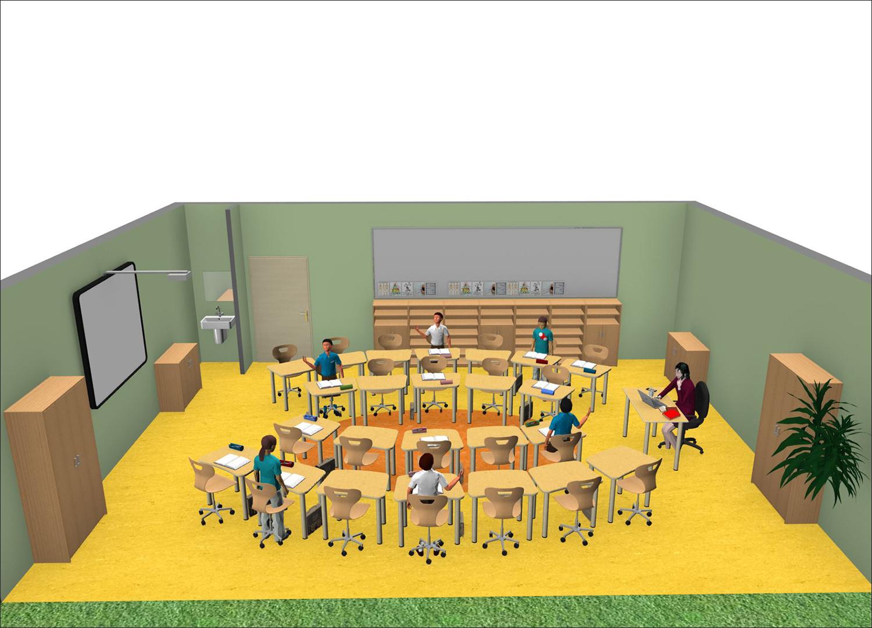 Forminant klassenzimmer raumkonzepte f r kita und schule for 3d raumplanungsprogramm
