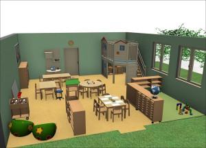 Forminant Gruppenraum mit Gemino+ für den Kindergarten