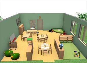 Forminant Gruppenraum für den Kindergarten
